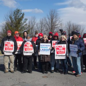 CWA strike in West Virginia